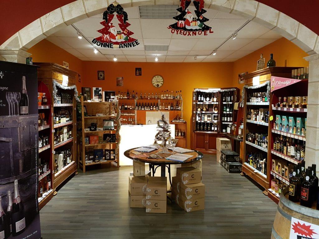 Caviste, vins spiritueux