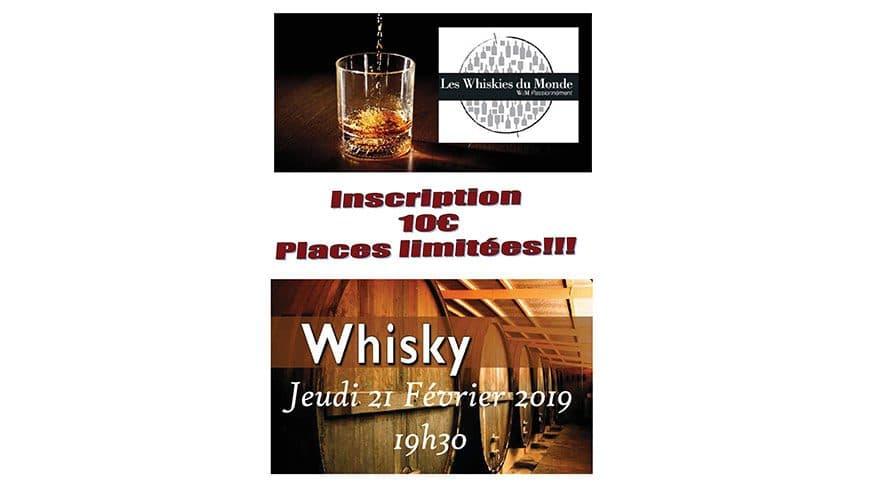 Soirée Whiskies