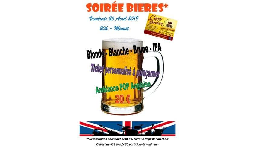 Semaine Anglaise : Soirée Bières