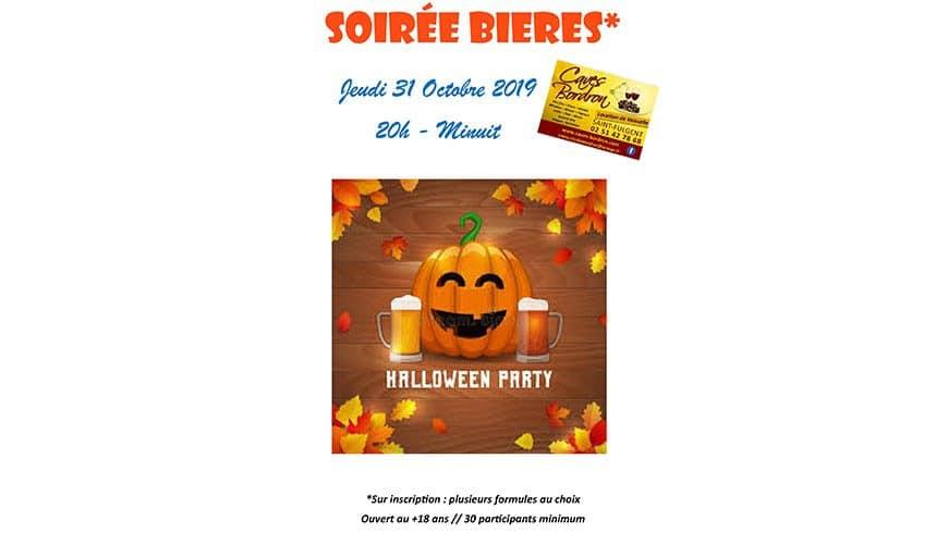 Soirée Bières : Halloween