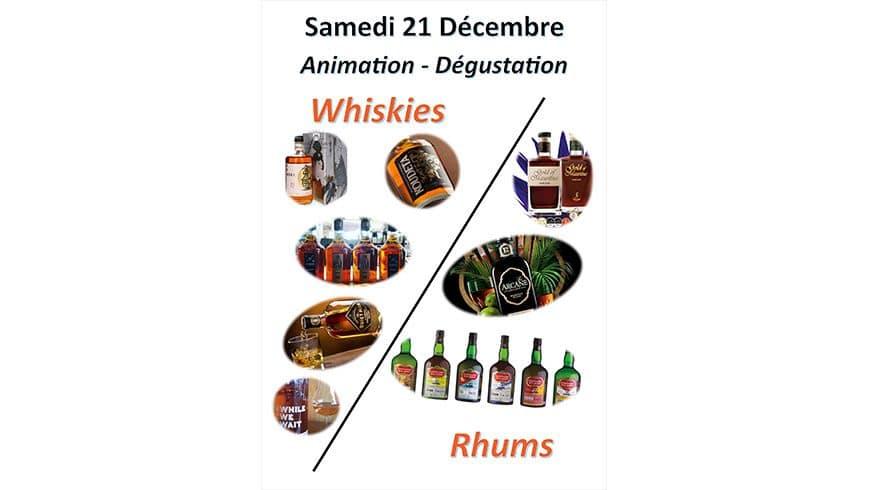 2ème JOUR DE FOLIE : Whiskies et Rhums