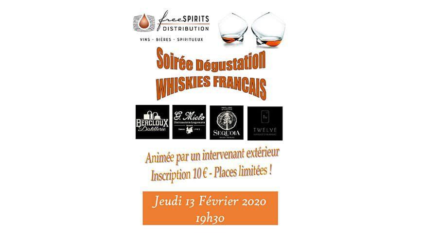 Soirée Whiskies Français