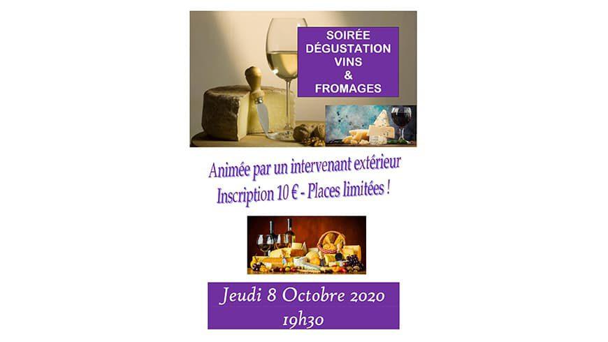 Soirée Vins et Fromages