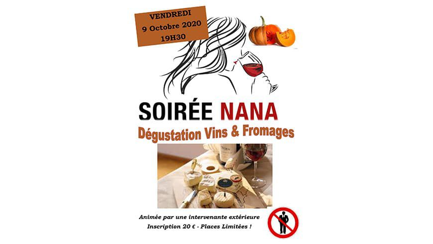 Soirée NANA N°2 : COMPLET!