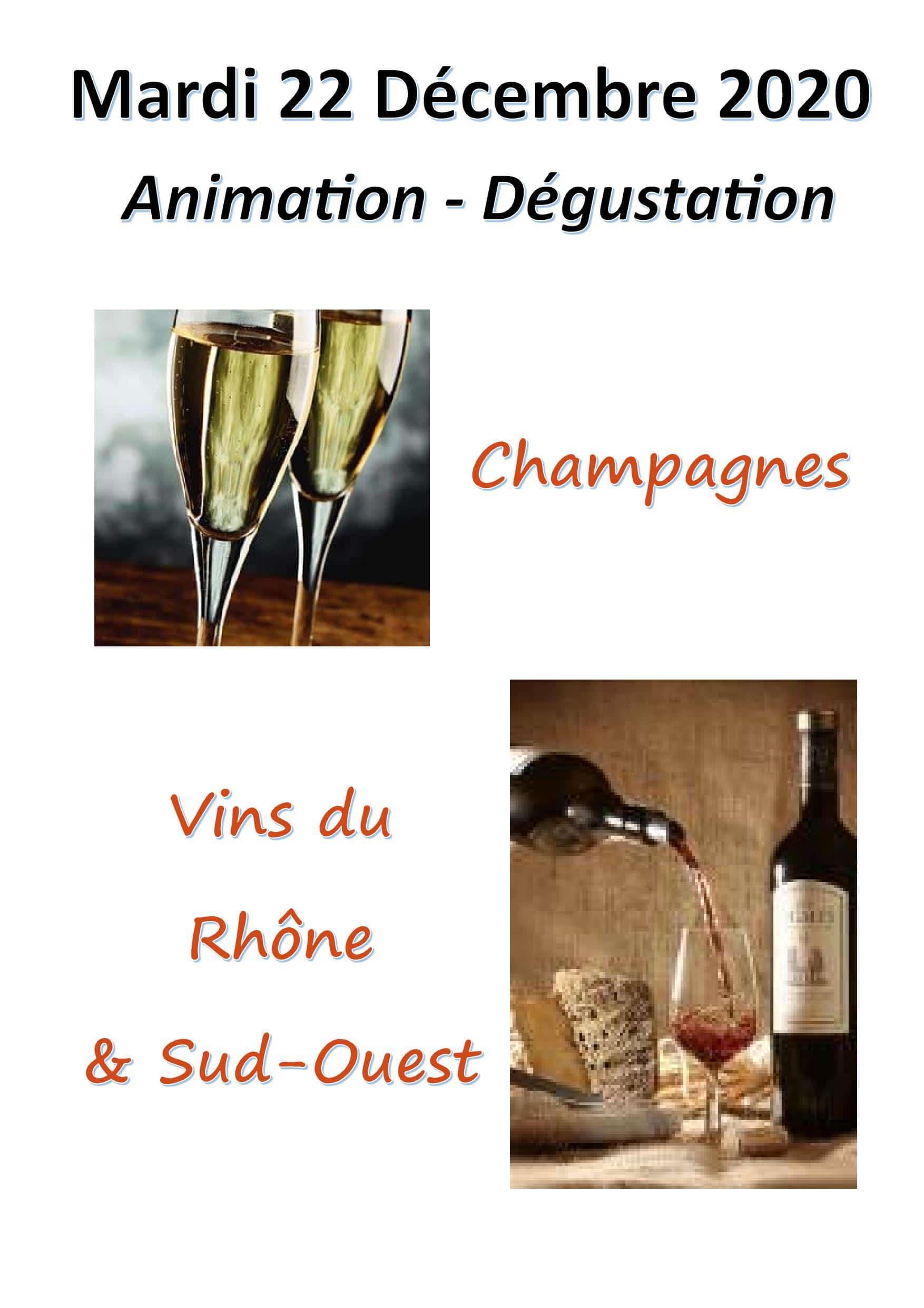 2ème JOUR DE FOLIE : Vins et Champagnes